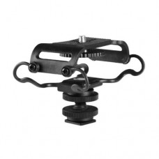 BOYA BY-C10 shock mount for Digtal recorders,Zoom H4n,H6,H5,Tascam DR-07mkII,DR- 100mkII,DR-40