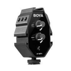 BOYA BY-MP4  Audio Adapter for Smartphone, DSLR Cameras, Camcorders