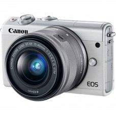 Canon EOS M100 15-45mm IS STM White