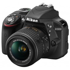Nikon D3300 Kit AF-P 18-55 DX f3.5-5.6G ED VR