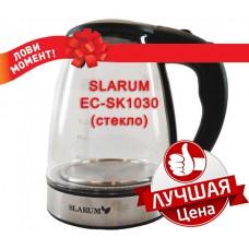 Чайник SLARUM EC-SK1030 Black (стекло)